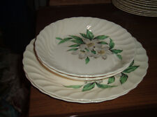 Lot of 4 Vintage Royal China USA Dogwood Pattern Serving Pieces