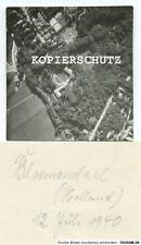 Altes Foto Luftbild BLOEMENDAAL / Holland 12.07.1940  2.WK