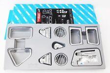 Chrome Interior Molding Kit 12Pcs For KIA Picanto All new morning 2011 2014