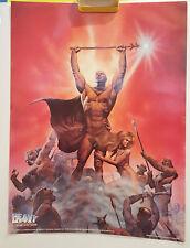Heavy Metal Richard Corben Den 24 x 18 Poster 1981 & Free multi-scene Poster