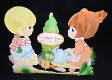 "Precious Moments ""Sowing The Seeds Of Friendship!"" Garden Stand, Retired"