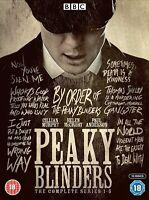 Peaky Blinders Complete Series 1 - 5 Box Set Brand New & Sealed Region 2 UK