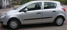 Schutzleisten für Opel Corsa D, 5-türig, ab Bj. 2006 - 2011
