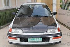 VIS 88-91 Civic 3D/CRX JDM Carbon Fiber Hood OEM EF