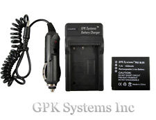 PANASONIC LUMIX DMC-GF3 DMC-GF3K DMC-GF3R DMC-GF3P CAMERA BATTERY + CHARGER