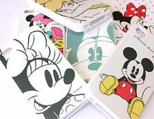 iPHONE 4 4S - Soft Silicone Rubber Gummy Skin Case Cover CUTE DISNEY CHARACTERS
