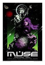 Muse Melbourne 2007 Concert Poster Art Rhys Cooper Ltd Ed