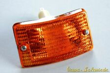 VESPA Blinker komplett - Vorne links - Gelb - PK XL XL2 - Blinkerglas Orange