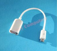 Micro-B USB OTG Cable Host Adapter for Samsung Galaxy Note S4 S3 S2 Nexus i9305T