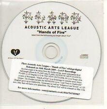 (954D) Flare Acoustic Arts League, Hands of Fire- DJ CD