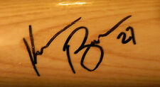 Kevin Brown Signed Baseball Bat Auto Tigers Yankees Dodgers Georgia Tech COA