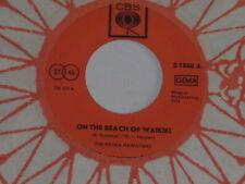 "THE KILIMA HAWAIIANS -On The Beach Of Waikiki- 7"" 45"