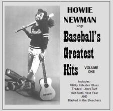 Baseball's Greatest Hits, Volume 1 CD, 5 hilarious baseball songs