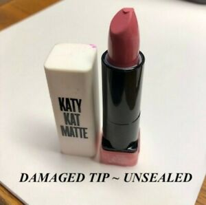 2 pcs COVERGIRL Katy Kat Matte Lipstick KP02 Pink Paws *UNSEALED & DAMAGED TIP*
