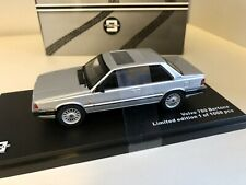 TRIPLE 9 1987 Volvo 780 Bertone Coupé en argent métallique 1/43 neuf dans sa boîte