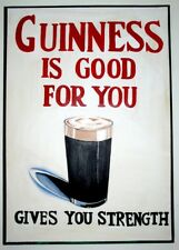 GUINNESS IS GOOD FOR YOU, Ireland, date unknown, 250gsm A3 Poster