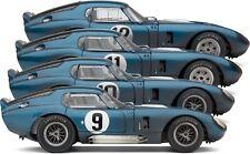 Exoto | 1:18 | Cobra Daytona at Le Mans 1965 | Collection of 4 | # BND22063FLP