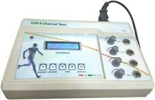 New T.E.N.S Electrotherapy 4 Channel Machine Physical Therapy Unit ( Plastic Bod