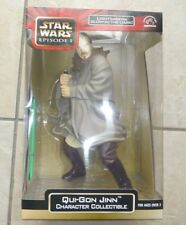 "Star Wars Qui-Gon Jinn Jedi Knight 12"" Figure & glow-in-the-dark lightsaber MISB"