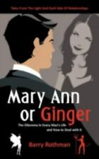 Mary Ann or Ginger: The Dilemma in Every Man's Life and How to Deal-ExLibrary