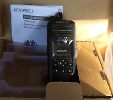 KENWOOD Nx-5200K2 6 WATT VHF RADIO 136 Mhz-174 Mhz NXDN /ANALOG