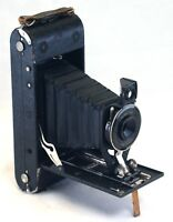 ANSCO ILEX No.1A Antique Folding Bellows Camera Ready Set lens USA