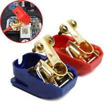 Universal Quick Release Battery Terminals Clamps 12V Pair Car Motorhome Terminal
