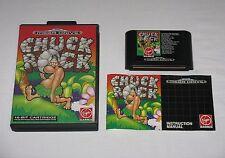 Chuck Rock Sega Mega Drive Perfetto Completo con Manuale Italiano