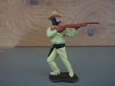 Timpo / Cowboy mit Gewehr / einteiliger Kopf aus 4. Version / Schnauzbart
