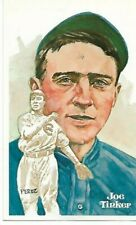 Joe Tinker Perez-Steele Hall of Fame Art Postcard Chicago Cubs #47