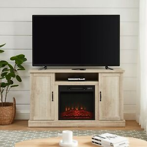 """Electric Fireplace TV Stand Media Storage Television Console Shelves for 55"""" TVs"""