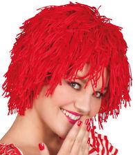 TRAVIESO Zottel Peluca Rojo NUEVO - carnaval PELUCA PELO