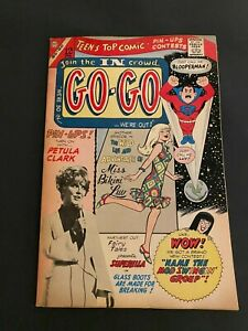 GO-GO COMICS #6 8.0 VF OW/WHITE PAGES