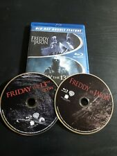 Freddy vs. Jason/Friday the 13th (2009) (Blu-ray Disc, 2015, 2-Disc Set) Rare