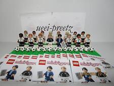 Lego DFB Die Mannschaft Minifiguren  komplett alle 16 Figuren 71014  NEU