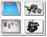 SSP 20 Audi 100 C2 5D 5-Zylinder Dieselmotor Konstruktion 1978