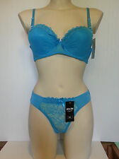 ENSEMBLE lingerie soutien gorge 110D REMBOURRE avec slip 44/46