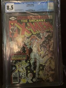 Uncanny X-Men #130 (Marvel 2/80) CGC 8.5 White Pages 1st Appearance Dazzler Key!
