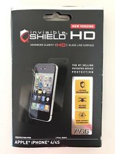Zagg Invisible Shield HD Clarity Screen Protection iPhone 4/4s
