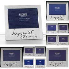 Happy Birthday Photo Frames 16th 18th 21st 30th 40th 50th 60th 70th 80th 90th