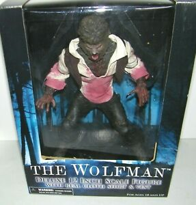 """Mezco Toyz Universal Monsters The Wolfman 12""""Action Figure Bloody Clothes Horror"""
