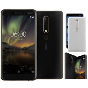 New Unlocked Nokia 6.1 Sealed Box 32/64GB ANDROID Dual SIM Global Smartphone