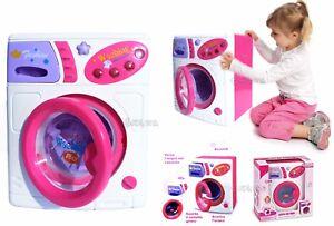 LAVATRICE GIOCO bambini giocattolo rossa con luci CM. 24 X 19 giocattolo bambina