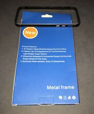 Apple Iphone 5 (A1429) Phone Metal Frame/Bumper- 0.7mm - Black-NIB