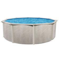 """Cornelius Pools Phoenix 21' x 52"""" Round Steel Frame Above Ground Swimming Pool"""