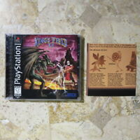 KING'S FIELD II 2✨Playstation PS1✨ USA 100% Complete w/ Rare Insert! ✨NICE SHAPE