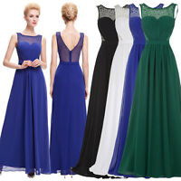 CLEARANCE! Maternity Chiffon Evening Prom Gown Wedding Bridesmaid Party Dress