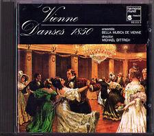 VIENNE 1850 DANSES Strohmayer Strauss Lanner Diabelli Stelzmüller John Mayer CD