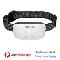 2021 White Compact Dog training anti bark collar shock-vibrate-sound barking