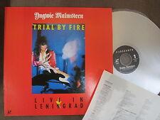 YNGWIE MALMSTEEN Trial By Fire JAPAN Laser Disc LD w/PS+INSERT VALP-3146 Free SH
